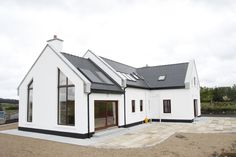 Exterior Bungalow House Ireland 15 Unusual Inspiration Ideas Modern Irish Bungalow House Plans - Homes Zone Loft House Design, Bungalow Haus Design, Small House Design, Modern House Design, Bungalow Designs, Modern Bungalow House Plans, Small Bungalow, House Designs Ireland, Cottage House Designs