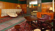 Visitamos los interiores recuperados de Adolf Loos en Pilsen.