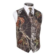 ==> [Free Shipping] Buy Best 2017 Popular Fashion Hot Sale Camo Vest And Tie Custom Made Cheap High Quality Groom Vest Online with LOWEST Price | 32804984100