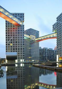 Steven Holl Architects Linked Hybrid Complex Beijing