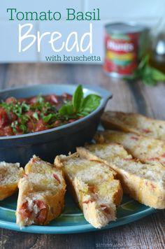 Tomato Basil Bread from @Danielle Simmons & get #DinnerDone  #SoFab #shop