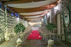 Confetti Magazine Irish Wedding Venue of the Month August - Boyne Hill Estate Wedding Catering, Wedding Venues, Irish Wedding, House On A Hill, Confetti, Magazine, Table Decorations, Home Decor, Party