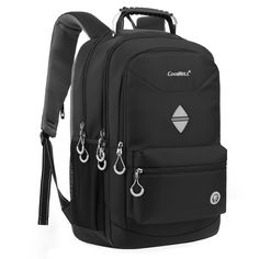 6d8aa84a5276 18.4 Inch Backpack Laptop Bag Travel Rucksack Water-resistant Computer  Knapsack  fashion  computers