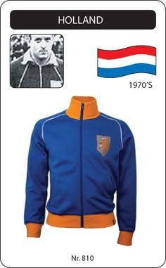 Nederland voetbal jack jaren '70 Holland retro voetbal truitje football soccer vintage sport COPA