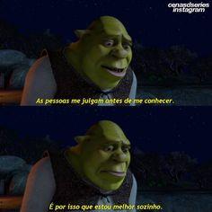 Frases Disney, Disney Memes, Movie Quotes, Book Quotes, Series Movies, Film Movie, Dream Word, Crazy Life, Shrek