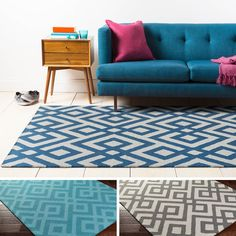 Hand-Tufted Adil Wool Rug (8' x 10') | Overstock.com Shopping - The Best Deals on 7x9 - 10x14 Rugs