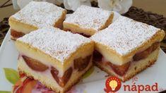 Šťavnatý vanilkový koláč so slivkami: Najlepší hrnčekový recept slivkovej sezóny – vynikajúci a úplne jendoduchý! Sandwiches, Cake, Food, Basket, Roll Up Sandwiches, Pie Cake, Meal, Cakes, Essen