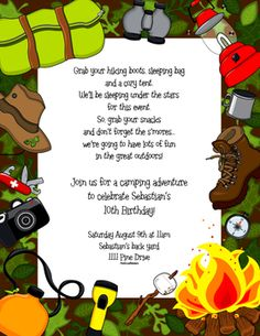 1000 Images About Camping On Pinterest Go Outside Poem