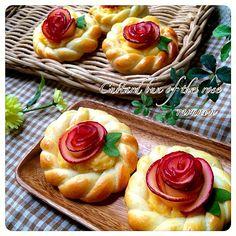 なおさんの料理 りんごのバラで♡りんごのカスタードパン by りるのん at 2014-11-12