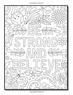 Live Your Dreams: An Adult Coloring Book with Fun Inspirational Quotes, Adorable Kawaii Doodles, and Positive Affirmations for Relaxation Quote Coloring Pages, Coloring Pages Inspirational, Free Adult Coloring Pages, Free Printable Coloring Pages, Colouring Pages, Coloring Sheets, Coloring Books, Kids Coloring, Inspirational Quotes