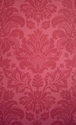 Campbell Damask option 2 - master bedroom - feature wall