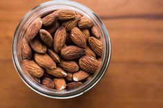 Having healthy snacks that are portable and cure your cravings are great for when hunger hits. Here are 12 high-protein snacks for weight loss. Health Benefits Of Almonds, Almond Benefits, Cholesterol Lowering Foods, Cholesterol Levels, Healthy Fats, Healthy Snacks, Healthy Recipes, Eating Healthy, High Protein Snacks