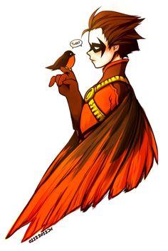 Tim Drake as Red Robin