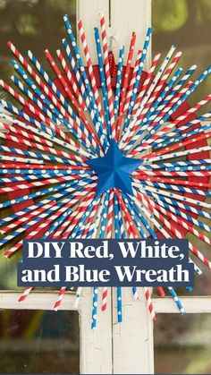 4th Of July Celebration, 4th Of July Party, Fourth Of July, Patriotic Party, Patriotic Crafts, Ruler Crafts, Red Spray Paint, 4th Of July Decorations, Craft Night
