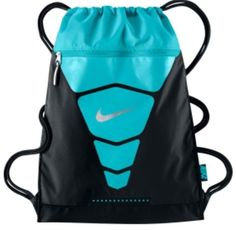 Nike Heritage Gym Sack Draw String Backpack Ba5128- Black/black/white