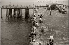 Historic Views of Long Branch - Beach and Pier