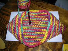 Hotchpotch: Crochet Potholder