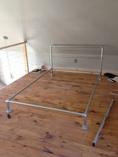 HL Pipe Bed Frame by Simplified Building Concepts, via Flickr. This would be neat for Landon's room.