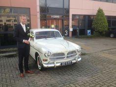 #Volvo #Trouwauto #Amazon #Bruidegom #Heerhugowaard #bruiloft