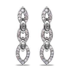 Ebay NissoniJewelry presents - Ladies' 3/8CT Diamond Fashion Earrings in 14k White Gold    Model Number:EV2769G-W453    http://www.ebay.com/itm/Ladies-3-8CT-Diamond-Fashion-Earrings-in-14k-White-Gold/321612197294