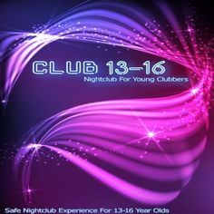 Club 13-16 Nightclub for Young Clubbers at Witton Albion Fc, Wincham Park, Chapel St, Northwich, CW9 6DA, UK. Presenting the safe NIghtclub Experience for young Clubbers.Only for ages 13-16.Launching 31st July 2014 Doors open 18.30.Featuring two top Nightclub djs playing the very best in House, RnB, EDM and chart. URLs: Booking: http://atnd.it/13319-0 Facebook: http://atnd.it/13319-2  Price: £5  Category: Nightlife  Date: July31,2014  Time: 6:30pm to 10:00pm