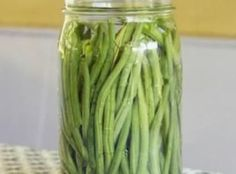 Pickled green Beans Easy by Freda Recipe