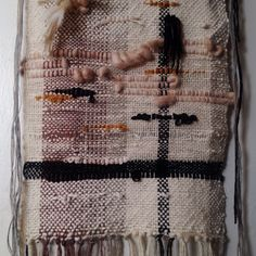 Weaving by Nicole Jo Melton. Knotandsplice.com