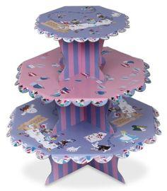 Alice in Wonderland Cupcake Stand and Cupcake Wraps Green Party Goods http://smile.amazon.com/dp/B0049V35BM/ref=cm_sw_r_pi_dp_9f6twb1C6V8AR