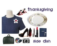 """""""Thanksgiving Side Dish"""" by seasidecollectibles ❤ liked on Polyvore featuring Louis Vuitton, Laura Geller, Casetify, Laura Mercier and etsyevolution"""