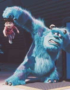 Shared by mandy. Find images and videos about cute, disney and childhood on We Heart It - the app to get lost in what you love. Bu Monsters Inc, Disney Monsters, Disney Art, Disney Movies, Walt Disney, Sullivan Y Boo, Monster Co, Disney Phone Wallpaper, Disney Drawings