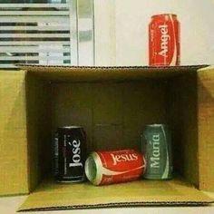 Cheap nativity.