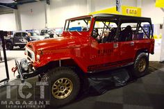 Toyota Land Cruiser FJ-UTE at SEMA 2014. By Red Line Land Cruisers out of Colorado Springs.