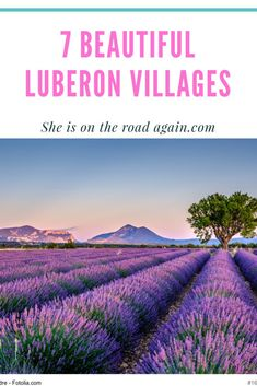 #vanlife in #luberon #provence ☀️‍♀️ My most beautiful villages, campground advices, food and sights in Provence.