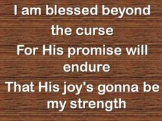 Trading My Sorrows by Darrell Evans performed by Hillsong (female lead)