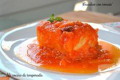 Holaaaa! Hoy vengo con un clásico de la cocina española. Para que salga bien rico todos los ingredientes tienen que ser de 1º calidad. Mis lomos de bacalao eran extragordos! A mi me gusta el bacala…