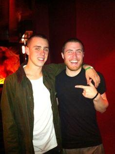 sammy adams & mike posner! my 2 favorite people