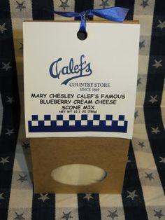Calef's Blueberry Cream Cheese Scone Mix