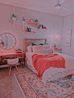 Cute Bedroom Decor, Bedroom Decor For Teen Girls, Cute Bedroom Ideas, Room Ideas Bedroom, Teen Room Decor, Bedroom Inspo, Bedroom Inspiration, Aesthetic Room Decor, Cozy Room