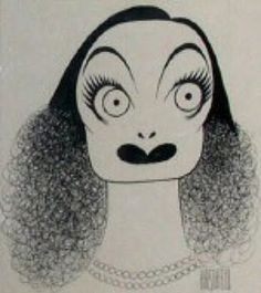 And...scene!: Al Hirschfeld's Characters Joan Crawford....