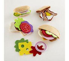 1000+ images about Felt Food on Pinterest | Felt food, Play food and ...