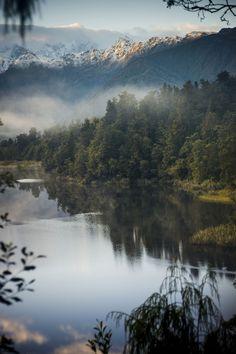 Lake Matheson, New Zealand byDarrynSantich