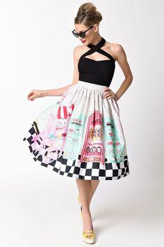 Unique Vintage > Skirts > #45291-K488 − LAShowroom.com