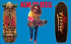 Not just for all of the sick skating that was featured in a way that appealed to young punks, but also for the off the wall ads. One person that changed the way skate ads looked Alva Skateboards, Skate And Destroy, Z Boys, Skate Decks, Skate Surf, Old Skool, Surfing, Skates, Sports