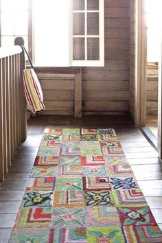 #DashAndAlbert Gypsy Rose Cotton Hooked #rug. #homedecor #interiors