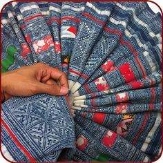 Tribal Hmong textiles
