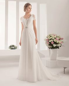 8B117 PALMIRA | Wedding Dresses | 2015 Collection | Alma Novia
