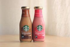 starbucks, strawberry, and coffee image