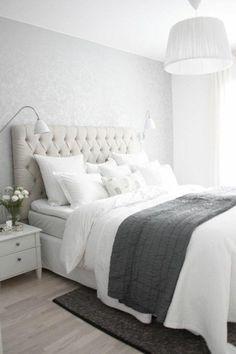 schlafzimmer dekorieren weißes bett schlafzimmer einrichten ähnliche tolle Projekte und Ideen wie im Bild vorgestellt werdenb findest du auch in unserem Magazin . Wir freuen uns auf deinen Besuch. Liebe Grüße Mimi