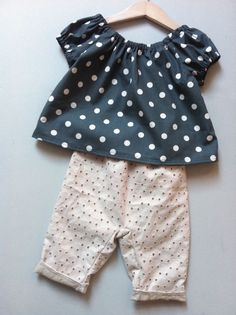 those eyelet pants are SO cute!