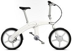 チェーンのない折り畳み式電動自転車   Mando Footloose    Read more: http://www.monogocoro.jp/2012/09/19/mando-footloose.html#ixzz26yrkGVGz